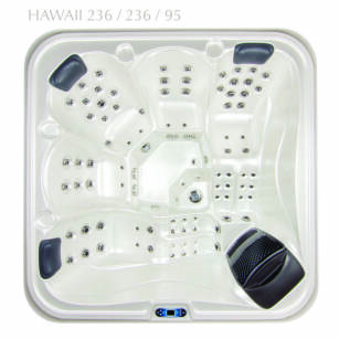 Wanna z hydromasażem DORAKO HAWAII PREMIUM